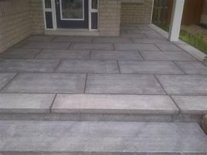 Stretcher Bond Patio Floor Granite