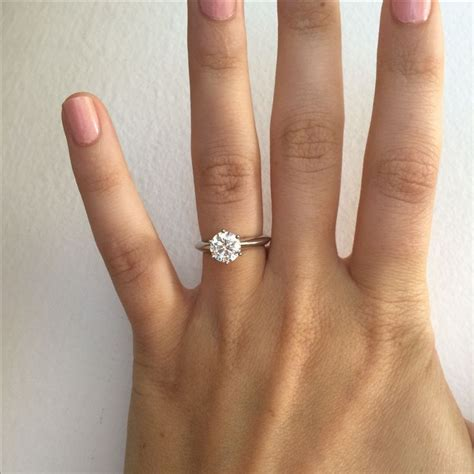 25 best ideas about round solitaire rings on pinterest