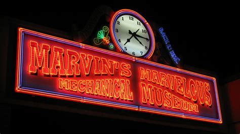 hit  road marvins marvelous mechanical museum birth