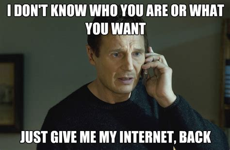 Which Internet Meme Are You - how do you handle being unplugged