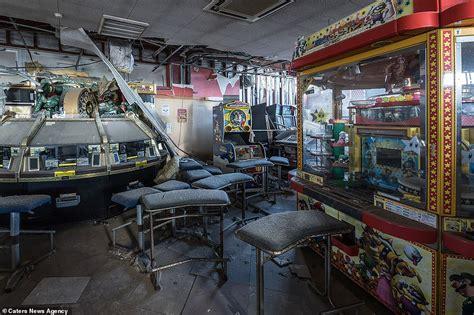 Eerie Abandoned Fukushima Sega Arcade 'covered In
