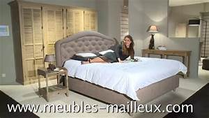 meubles mailleux chambre a coucher 2015 2016 youtube With meuble de chambre a coucher en bois