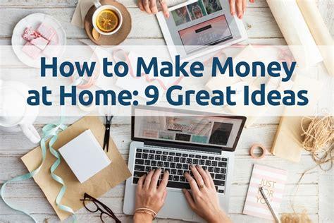 Make Money Home : How To Make Money At Home