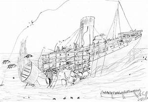Titanic breaking up by TimeLordParadox on DeviantArt