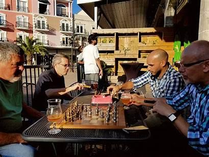 Chess Cigars Palm Cigar Lounge Event Bar