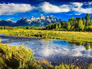 Beautiful, Mountain, Scenery, Hdr
