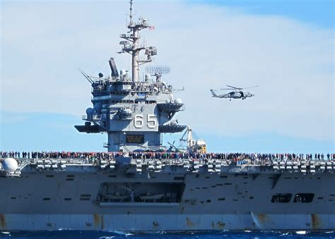 Enterprise Portaerei by Uss Enterprise Cvn 65 Completing Deployment 2012 16