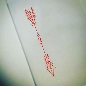 Dessin Fleche Tatouage : le tatouage ph m re 5 id es pour y aller doucement ~ Melissatoandfro.com Idées de Décoration