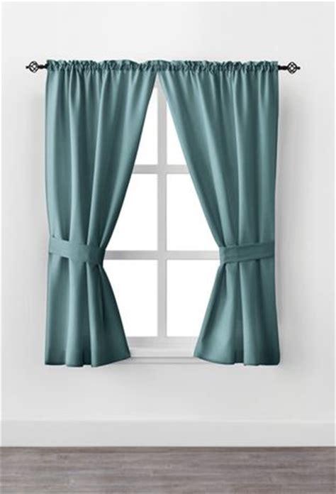 curtains at walmartca mainstays 63 quot rod pocket window curtain drapery