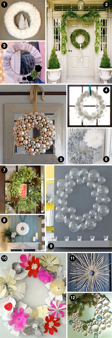 modern christmas wreaths   fabulous ideas
