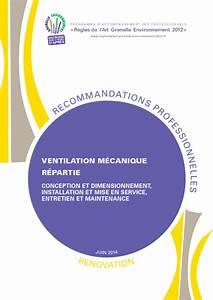 Ventilation Mécanique Répartie : ventilation m canique r partie en r novation habitat ~ Melissatoandfro.com Idées de Décoration