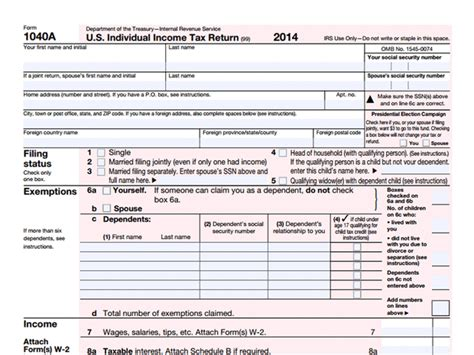 form  tax time   common irs forms explained