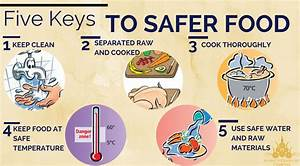 Five Steps To Food Safety