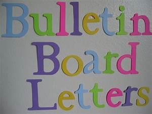 5 best images of free printable cut out letters for for Cut out letters for bulletin boards