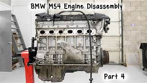 Part 4  Bmw M54 Engine Disassembly