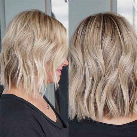 wavy haircuts  medium length hair