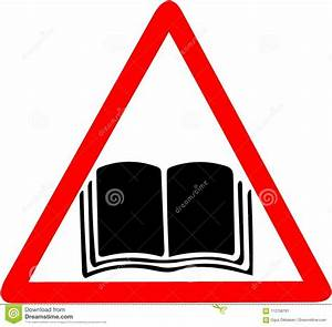Instruction Manual Handbook Guide Warning Icon  Open Book