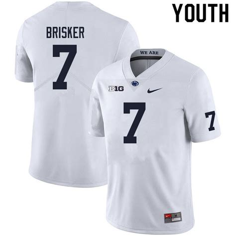 Youth #7 Jaquan Brisker Penn State Nittany Lions College ...