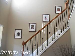 Decorating Cents: Hanging Frames With Double Hooks