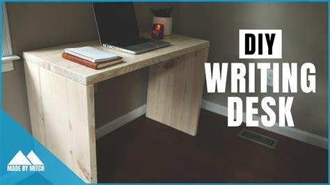 built  writing desk  inspirational ideas