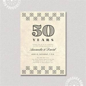 37 best images about 50th anniversary on pinterest vow With free printable 30th wedding anniversary invitations