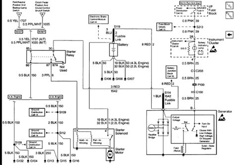 2001 Chevy Silverado 1500 Light Wiring Diagram by I A 1997 4wd Chevy S10 I Been An