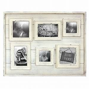 Cadre Photo Pele Mele Bois : cadre photo tangeri multi vues avec 6 photos bois 10 x 10 cm ~ Melissatoandfro.com Idées de Décoration