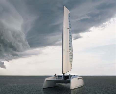 Sailboat Values by Zero Sail Concept Brings New Value To Catamarans Everywhere