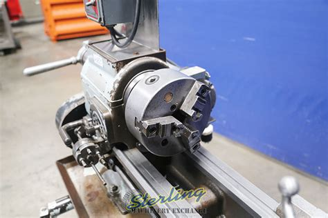 rockwell variable speed geared head engine lathe