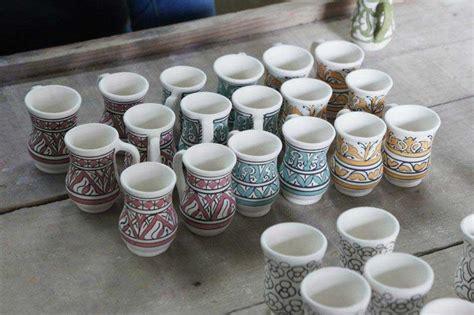 moroccos traditional crafts pottery  zellige tilework