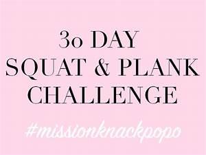 30 Tage Fitness : fit in den fr hling mit der 30 tage squat plank challenge mini and me ~ Frokenaadalensverden.com Haus und Dekorationen