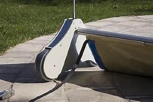 Bache À Barre Piscine : enrouleur automatique bache a barre piscine ~ Melissatoandfro.com Idées de Décoration
