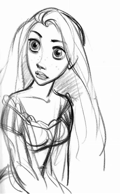 Keane Glen Rapunzel Tangled Disney Character Sketches