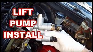 Dodge Cummins 12v Lift Pump Install Tips  Overview 6bt
