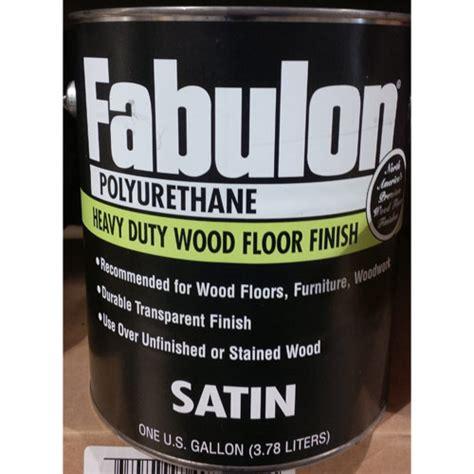 fabulon polyurethane stain hardwood floor finish clear
