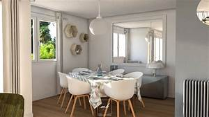 harmoniser un interieur a saint cloud mh deco With salle À manger contemporaine avec mobilier scandinave design