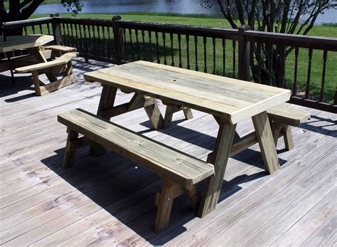 wood shop plans  building  picnic table  separate