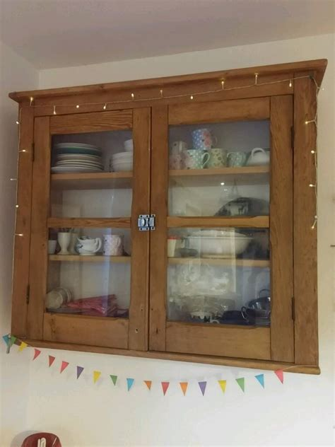 pine kitchen wall cabinets large vintage antique pine kitchen wall cupboard cabinet 4227