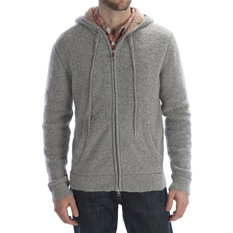 sweater with hoodie worn wool blend hoodie sweater zip for save 51