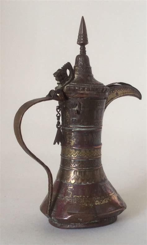 set   antique islamic arabic dallah coffee pots lloyd ellis