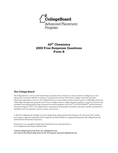 2007 ap statistics free response answers form b chemistry ap free response questions form b 2009