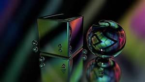 3d, Ball, Cgi, Glare, Digital, Art, Shapes, Hd, Abstract
