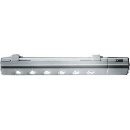 Led Lights At Walmart by Battery Operated 6 Led Light Undercabinate Light Walmart