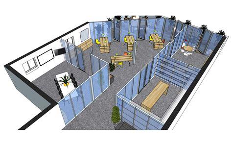 bureau start up aménagement de bureaux startup dakt décoration et