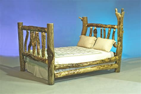 pictures of furniture file log furniture queen bed jpg wikimedia commons