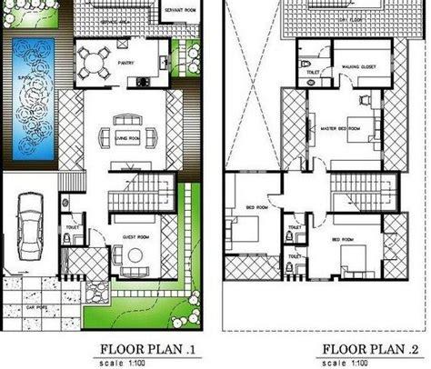 denah rumah minimalis  kolam renang cat rumah