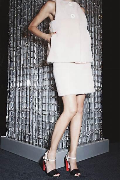 Heels Fendi Skirt Saks Gifs Neon Shoe