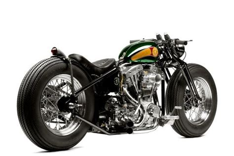 Zero Engineering Type 6 Iron Man Custom Bike Bobber