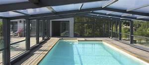 Abri Haut Piscine : abris de piscine mi haut abris de piscine semi haut ~ Premium-room.com Idées de Décoration