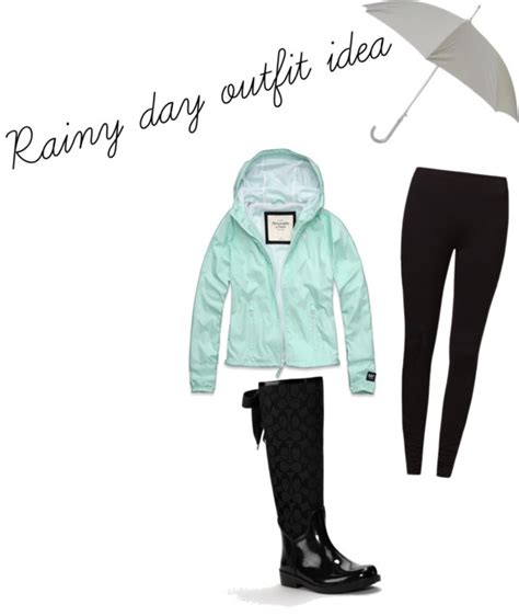 U0026quot;rainy day outfitu0026quot; by jennajoann on Polyvore | Clothes! | Pinterest | Polyvore Clothes and ...